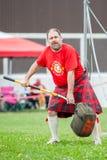 Szkockie górskie gry Fotografia Royalty Free