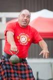 Szkockie górskie gry Zdjęcia Stock