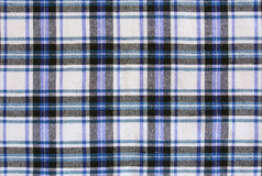 Szkockiej kraty tekstylnej tkaniny tło Zdjęcie Stock