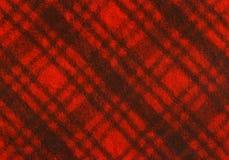 Szkockiej kraty tkanina Zdjęcia Stock