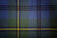 Szkockiej kraty tkanina zdjęcie stock