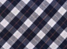 Szkockiej kraty tkanina obraz royalty free