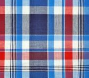 Szkockiej kraty tkanina zdjęcie royalty free