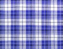 Szkockiej kraty tkaniny płytki Obrazy Royalty Free
