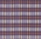 szkockiej kraty tkaniny tekstura Zdjęcie Royalty Free