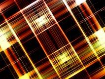 szkockiej kraty w tle czarnej czerwony Obrazy Stock