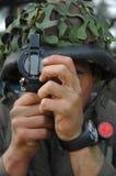 szkolenie bojowe wojskowe Zdjęcie Stock