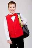 Szkolna chłopiec Obraz Royalty Free