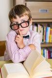 Szkolna chłopiec Obrazy Stock