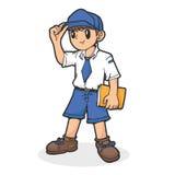 Szkolna chłopiec Fotografia Stock
