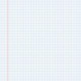 Szkolna notatnika papieru tekstura, bezszwowy wzór Ćwiczenie książka Zdjęcie Stock