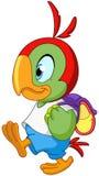 Szkolna papuga Zdjęcia Stock