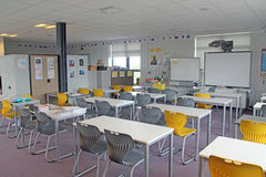 Szkolna sala lekcyjna Zdjęcie Stock