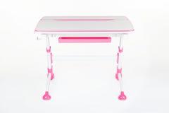 Szkolne biurka i krzesła menchie Fotografia Stock