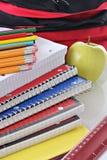 szkolne dostawy Zdjęcia Stock