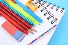 szkolne zapasy Obraz Stock