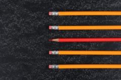 Szkolni ołówki Obrazy Stock