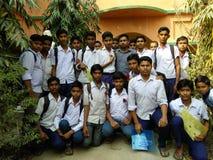 Szkolny świętowanie 21 przy Luty na nasz szkolnym pichalda Zdjęcia Stock