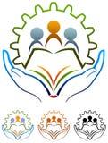 Szkolny logo ilustracja wektor