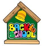 szkolny plecy (1) temat Zdjęcia Stock