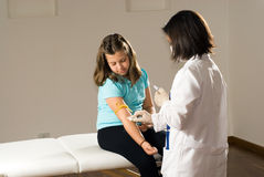 szkolny poziomy szczepień, Fotografia Royalty Free