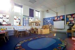 Szkolny sala lekcyjnej wnętrze Obrazy Stock