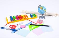 szkolny set Obrazy Stock
