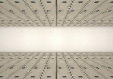 Szkolny szafka korytarz Zdjęcia Stock