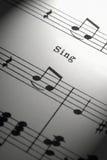 Szkotowa muzyka Obrazy Stock