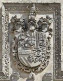 Szlachetny heraldyczny symbol Obraz Royalty Free