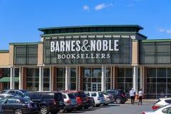 Szlachetny księgarza sklep & Barnes fotografia royalty free