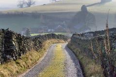 szlak z gospodarstw rolnych Fotografia Stock
