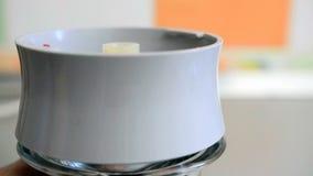 Szlifierska kawa z elektryczną maszyną zbiory
