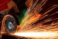 szlifierski żelazo zdjęcie royalty free