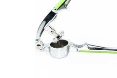 Szlifierski ciężki skorupa kraba narzędzie, zdruzgotany czosnku narzędzie odizolowywa Obrazy Stock