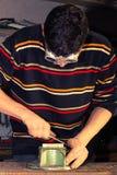 Szlifierski metal 3 Zdjęcia Royalty Free
