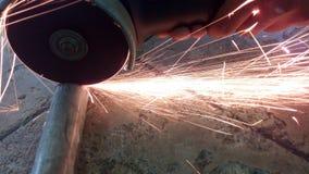 Szlifierskiego koła przemysłowa warsztatowa abrazja zdjęcia royalty free