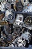 Szlifierskiej maszyny części grupy przedmioty Obraz Royalty Free