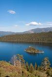 Szmaragd Podpalany Jeziorny Tahoe Kalifornia Fotografia Royalty Free