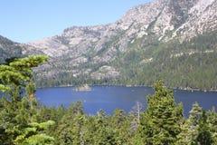 Szmaragd zatoka, Jeziorny Tahoe Zdjęcia Stock