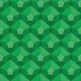 Szmaragdowa bezszwowa tekstura Klejnotu tło Wektor zieleni ornament Fotografia Royalty Free