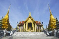Szmaragdowa statuy świątynia Zdjęcia Stock