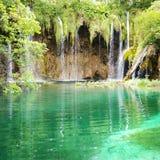 szmaragdowa wodospadu Zdjęcie Stock