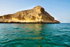 Szmaragdowej zieleni woda morze Zdjęcie Royalty Free