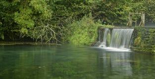 Szmaragdowy basen Zdjęcie Stock