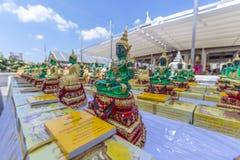 Szmaragdowy Buddha Fotografia Royalty Free