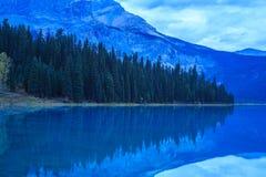 szmaragdowy Canada brytyjski jezioro Columbia lokalizować park narodowy yoho Obraz Royalty Free