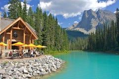 szmaragdowy jezioro Obraz Royalty Free