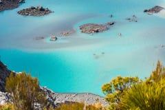 Szmaragdowy jezioro, góra Kucbarski park narodowy Fotografia Royalty Free