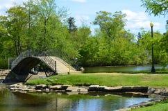 Szmaragdu most Zdjęcia Royalty Free